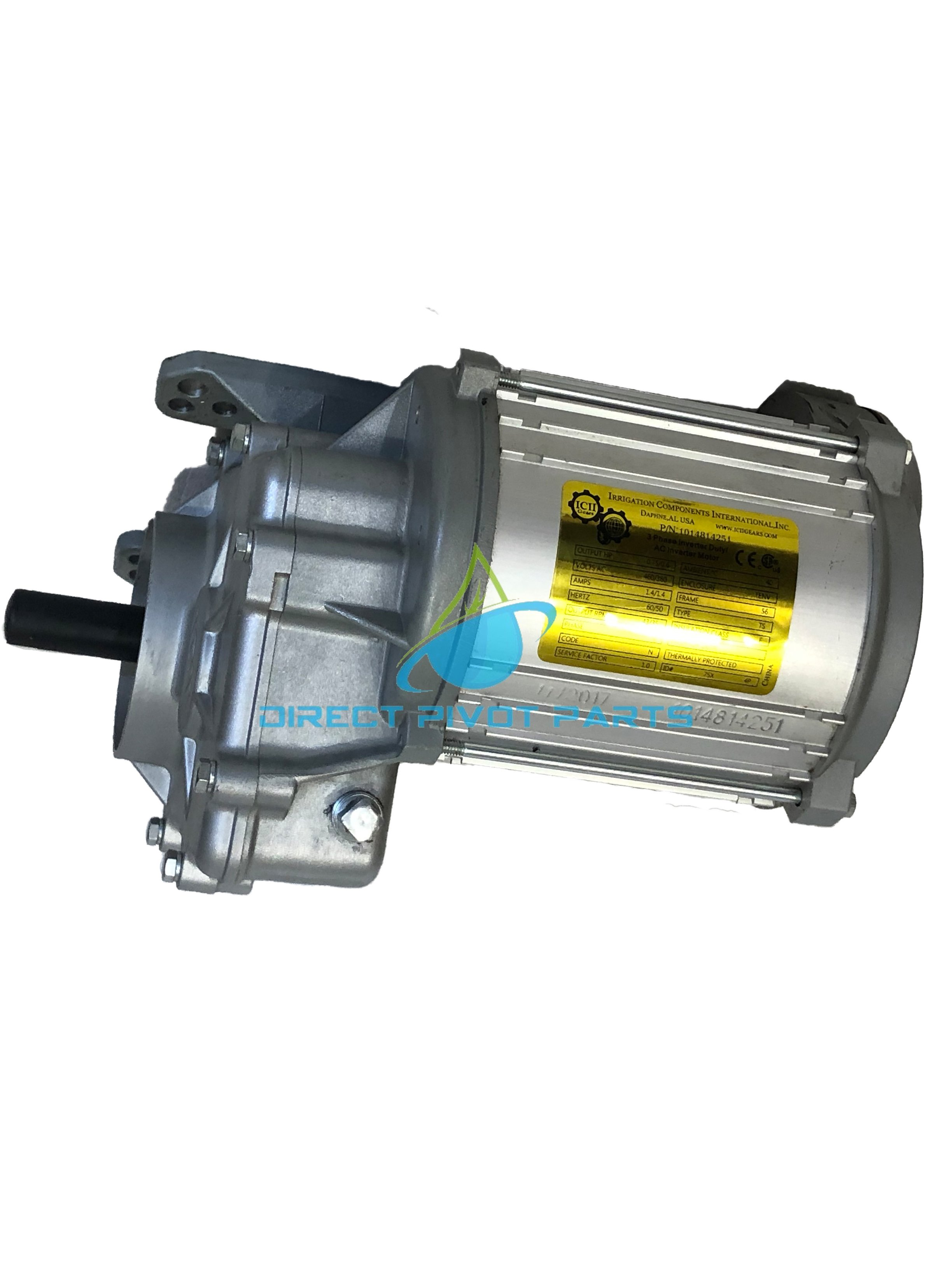 ICII Universal Pivot Center Drive 1.5 HP 57 RPM Gear Ratio 30:1