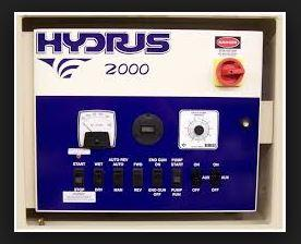 Hydrus Main Control Panel Options Model 2300 & 2000